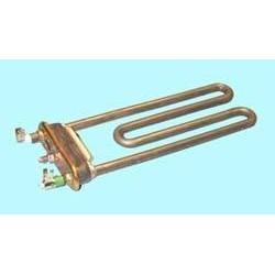 Resistencia Ariston Indesit Siltal 081780 1700W con agujero para termostato y TERMOFUSIBLE