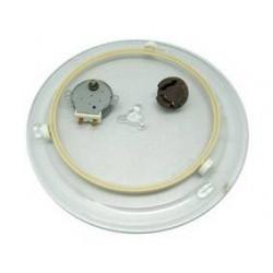Kit plato microondas 28cm 2/3 rpm