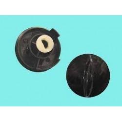 Mando microondas negro