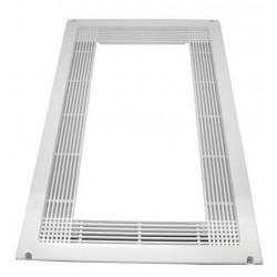 Marco ventilacion microondas color blanco