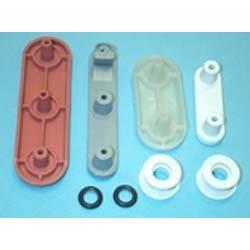 Kit soporte cesto lavavajillas Zanussi, Electrolux , Corbero, 50221870004.