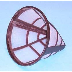 Filtro cafetera universal, nylon, nº 6. (12, 5cm di am. 10 cm. alto)