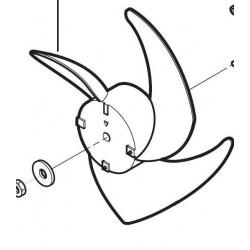 Hélice Ventilador Exterior Lg 5400570101