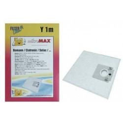 Y1M MIKROMAX BOLSA ASPIRADORA (X 5 + 1 MICROFILTRO) 8989258 FL0036-K