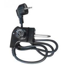 Cable universal para plancha de asar (acodado) , 250V 10A
