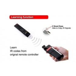Controla desde tu movil, aire acondicionado, television, dvd, camara, etc