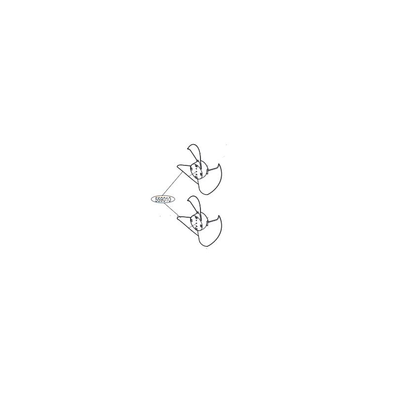 Hélice Ventilador Unidad Exterior MDG62002901