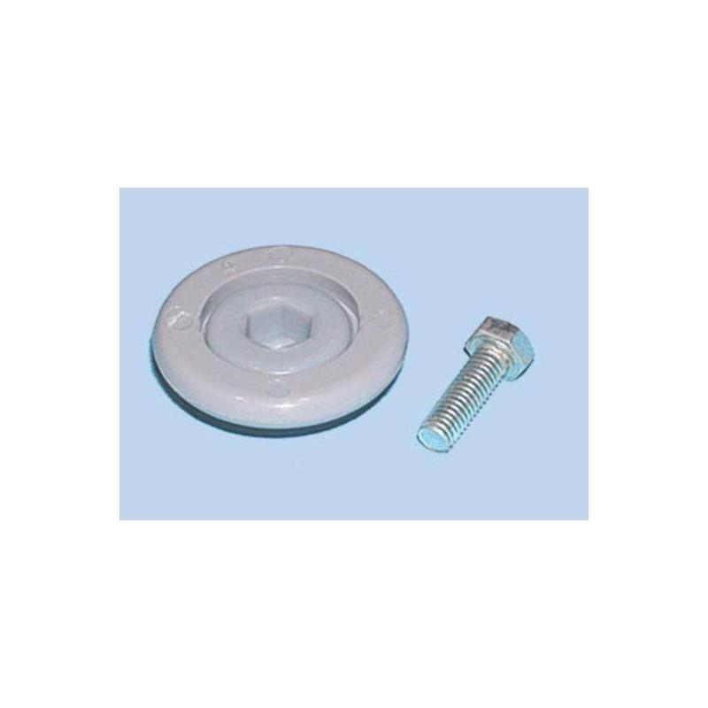 Conjunto rueda de guia lavavajillas Fagor, LV02612 00, VI7301, TORNILLO+RUEDA