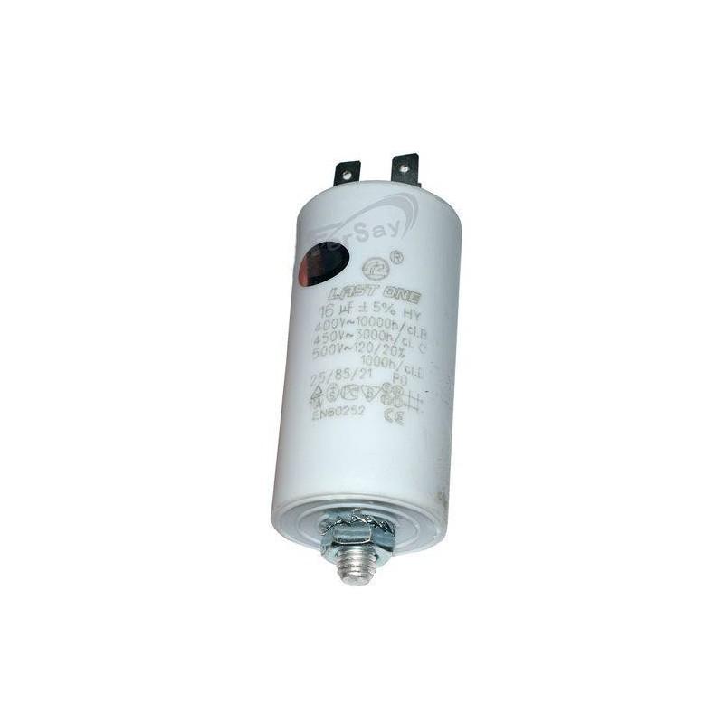 condensador simple 16 - 450v